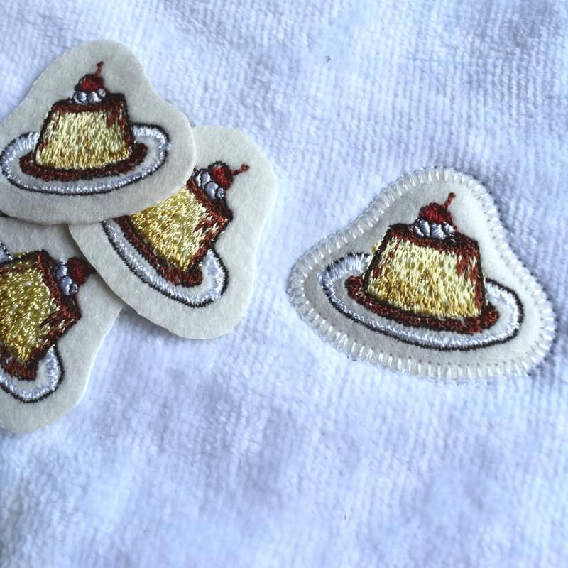 プリン刺繍タオルイメージ