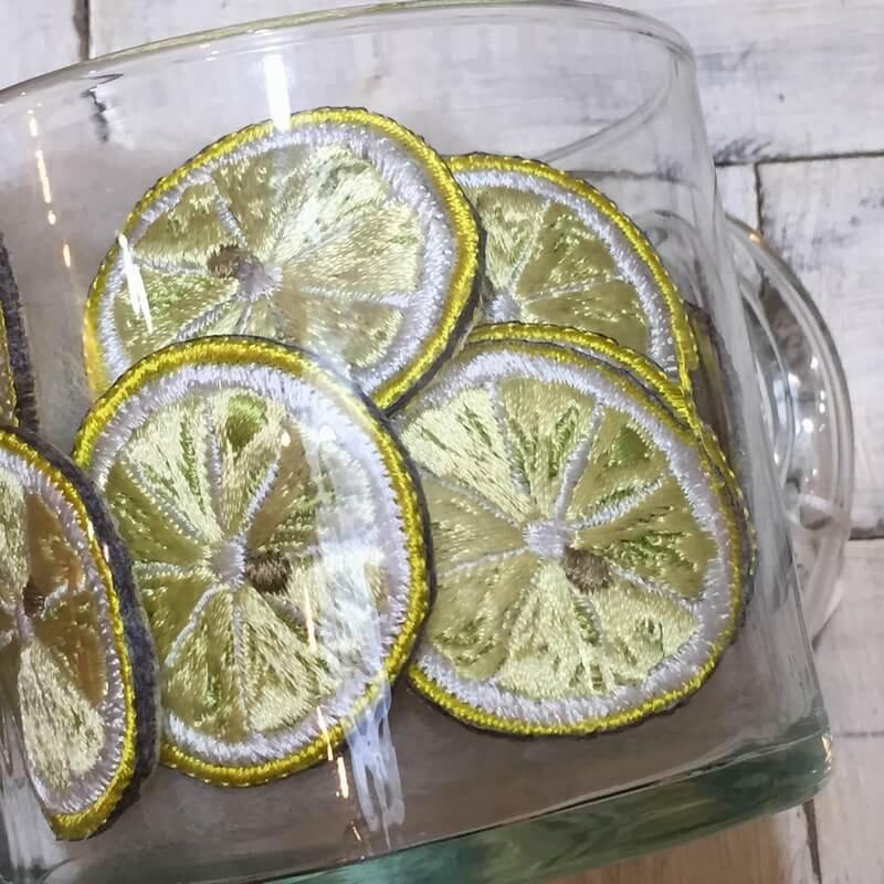 刺繍ワッペン/レモングラス