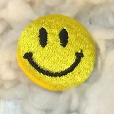 スマイル刺繍ボタンMサイズアップ