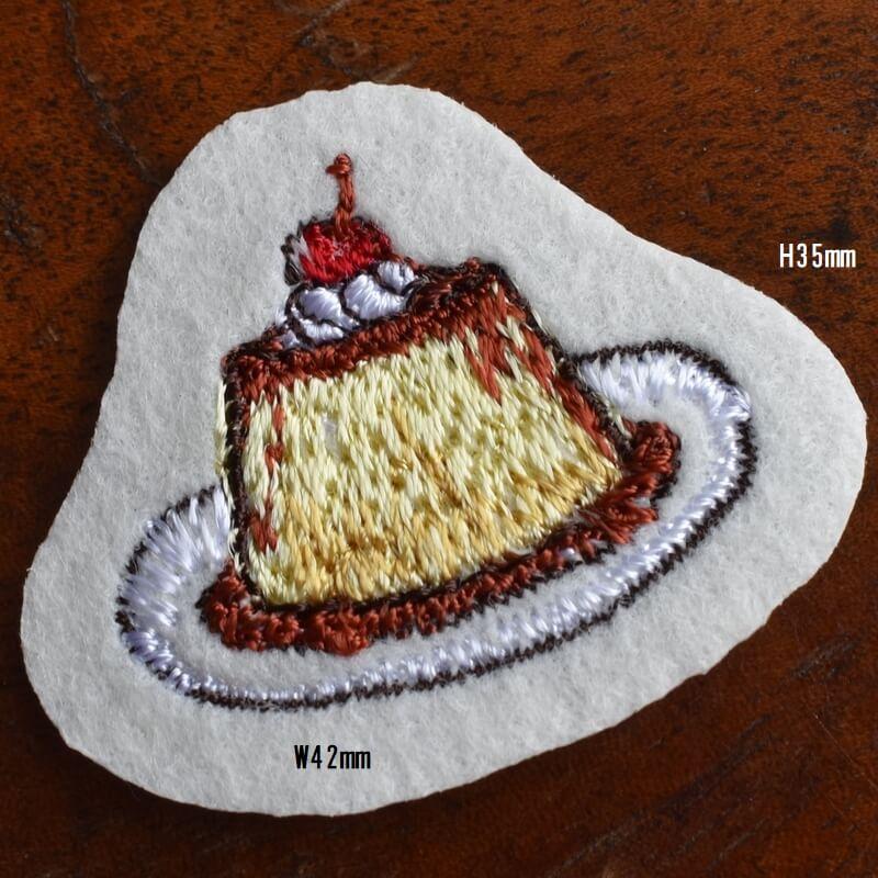 プリン刺繍サイズ
