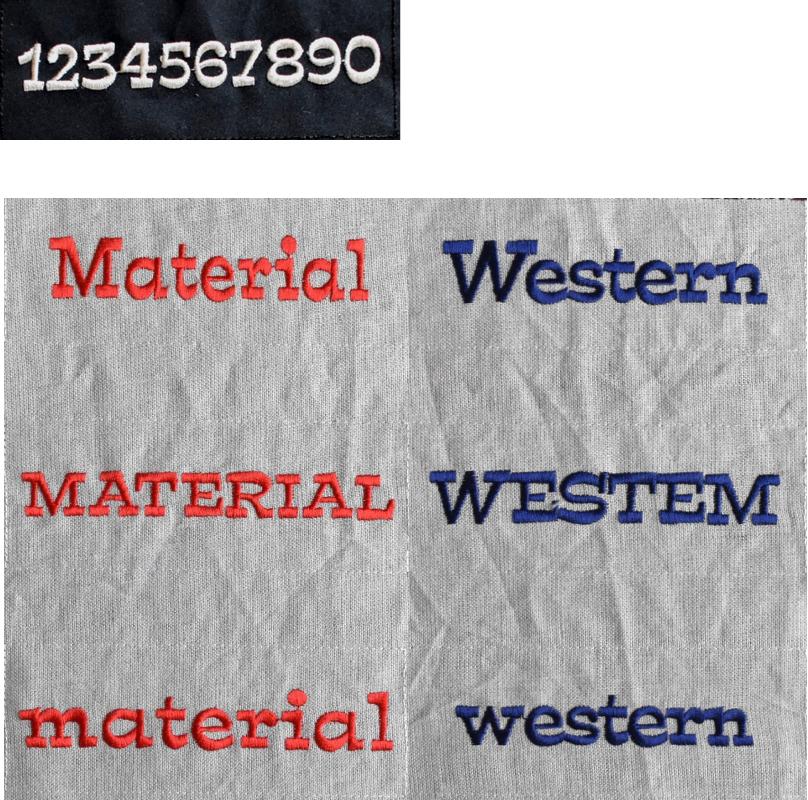 western体マテリアル