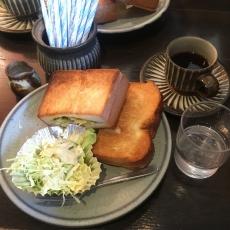 茶房 武蔵野文庫ホットサンド