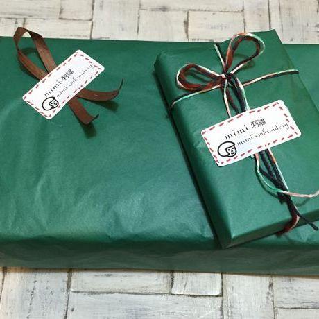 ギフト包装ボックス2種類