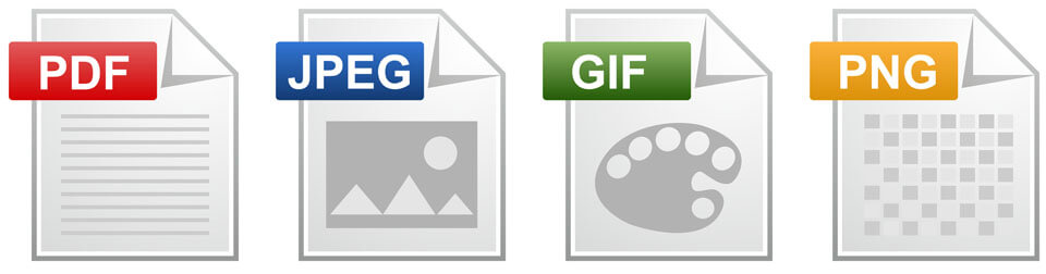 拡張子のファイルイメージ